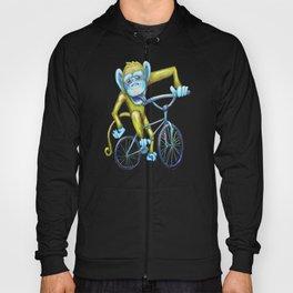 Bicycling Monkey Hoody