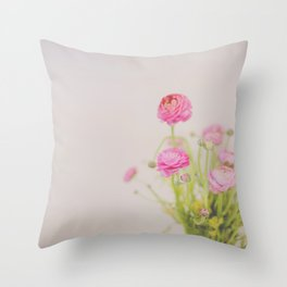 . florets . Throw Pillow