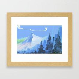 montain Framed Art Print
