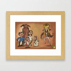 #62 Labyrinth: The Computer Game Framed Art Print