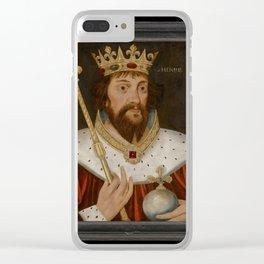 Eng-Sch-Henry Clear iPhone Case