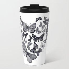 BUTTERFLY LOVE MONO Travel Mug