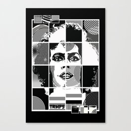The Rocky Horror Picture Show - Pop Art Canvas Print