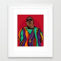 notorious Framed Art Prints featuring  Notorious by McfreshCreates