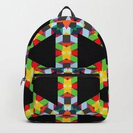 Black Triangle Backpack