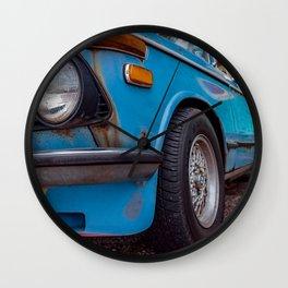 CARS & COFFEE.  010. Wall Clock