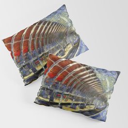 Paddington Railway Station Art Pillow Sham