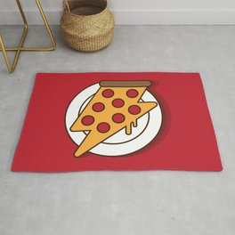 Fast Pizza Rug