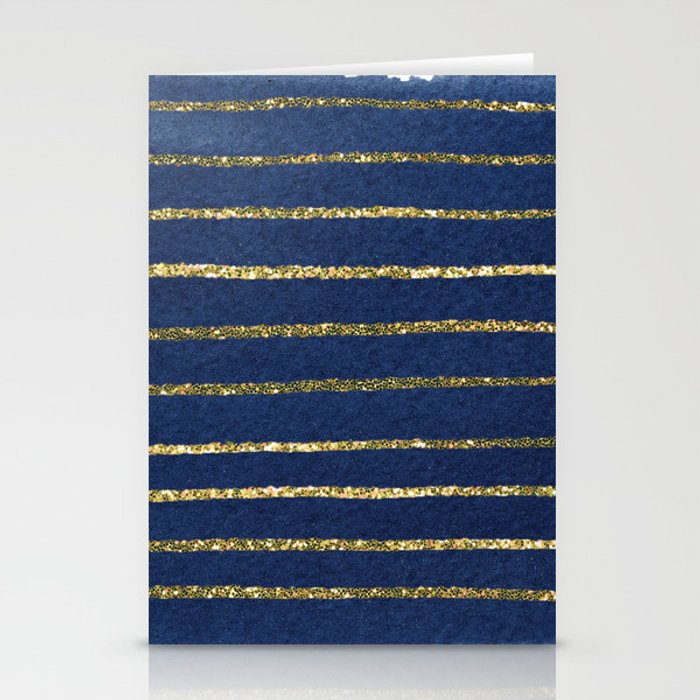 Nautical Sparkle Stationery Cards