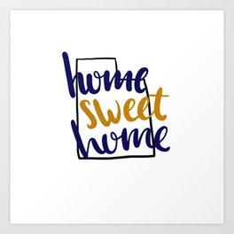Home Sweet Home-BYU Art Print