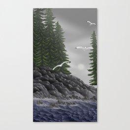Tofino Mist Canvas Print