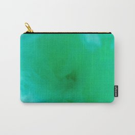 Textures (Green version) Carry-All Pouch