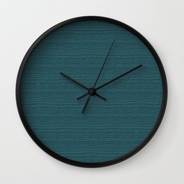 Hydro Wood Grain Color Accent Wall Clock