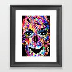 Balzak Skull Framed Art Print