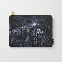 Trees In The Night Light Carry-All Pouch