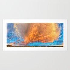 May 18th 2016 Cave Creek Sky Art Print