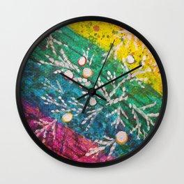 Leaves on the World Tree: Brahui Juniper Wall Clock