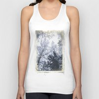 cities Tank Tops featuring Scared cities by HappyMelvin