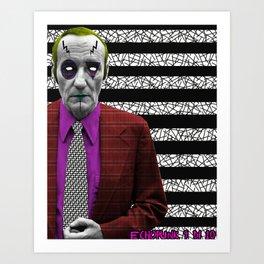 Pantone 9/10 = William R. Burroughs Art Print
