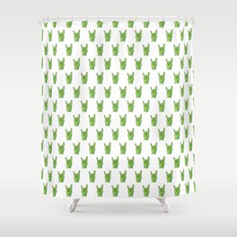 Rock 'n' roll CACTUS. Shower Curtain