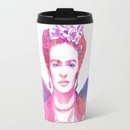 Winged Frida Travel Mug