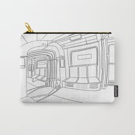 German Subway Study Carry-All Pouch