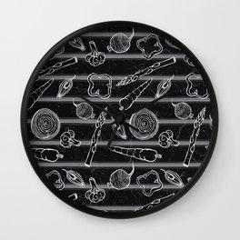 Veggie Grill Wall Clock