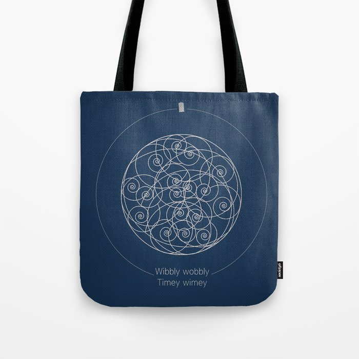 Doctor Who: Wibbly Wobbly Tote Bag