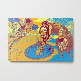 Birth Of Venus Reimagined (historic trip edition) Metal Print
