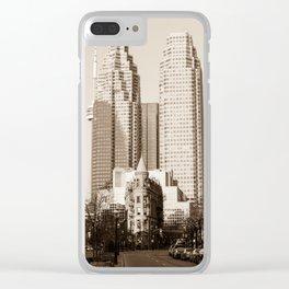 Toronto Flatiron Building Clear iPhone Case