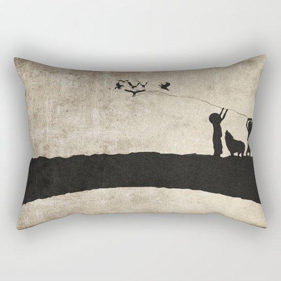 retaliation Rectangular Pillow