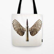 Caliber 30 Bird Tote Bag