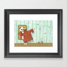 Bamboo (Bambouseraie) Framed Art Print