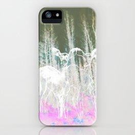 Deer in the headlights iPhone Case