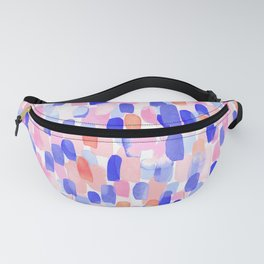 Delight Blue Orange Fanny Pack