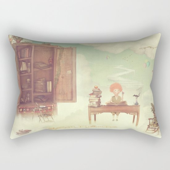 Lets go to school Rectangular Pillow