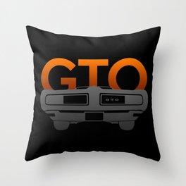 Pontiac GTO Throw Pillow