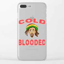 Fan of reggae? Here's the perfect tee for you! Makes a unique and awesome gift to your family too!  Clear iPhone Case