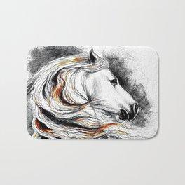 Dark Beauty Horse Bath Mat