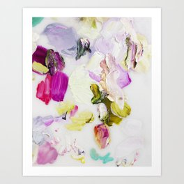 Back to Joy (Abstract Painting) Art Print