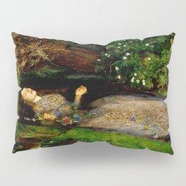"John Everett Millais ""Ophelia"" Pillow Sham"