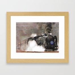 Steam Engine, Locomotive Framed Art Print