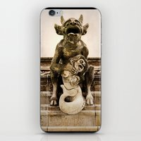 medieval iPhone & iPod Skins featuring Medieval Nightmare by Irina Chuckowree