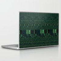 glitch Laptop & iPad Skins featuring Glitch by Pudding