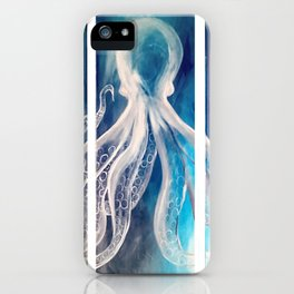 Octopus Tryptic iPhone Case