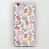 books iPhone & iPod Skins featuring Books by Abby Galloway
