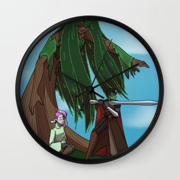 Wildmother's Warriors Wall Clock