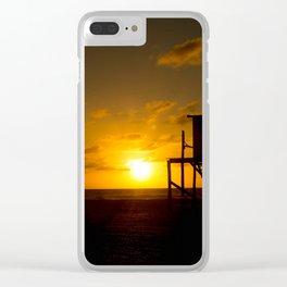 SunOnBeach Clear iPhone Case