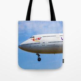 Virgin Atlantic Boeing 747 Tote Bag