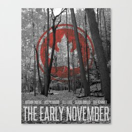 The Early November Canvas Print